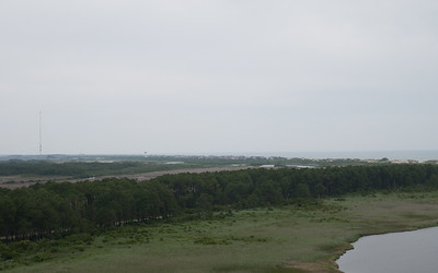 View from Bodie Island Lighthouse