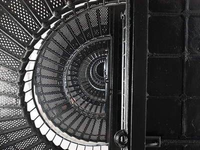 Bodie Island Lighthouse Stairs