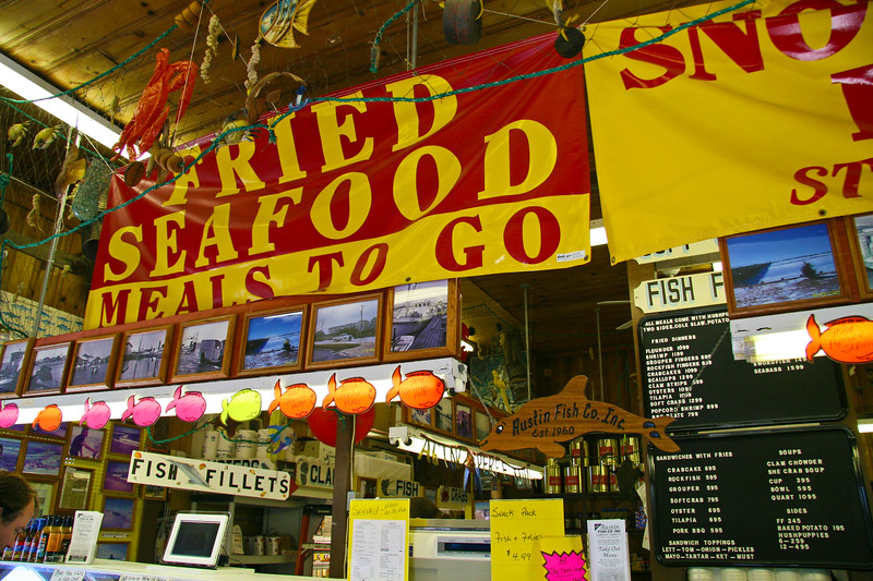 Austin's Seafood Market in Nags Head.