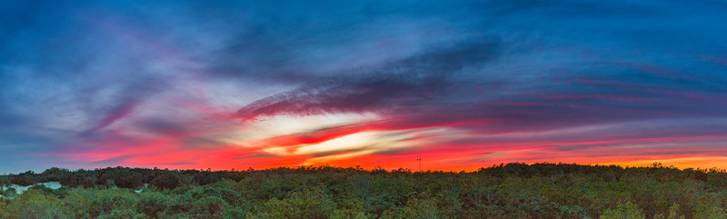 Outer Banks Sunset Panorama