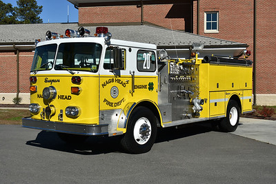 Privately owned in Virginia is ex Engine 20 from Nags Head, NC.  1980 Seagrave PB 24068  1250/1000 and serial number K73963.  Engine 20 would later become Engine 1603 at Nags Head.  After service in Nags Head, it was donated to Stumpy Point, North Carolina which is also in Dare County and not to far from Nags Head.  The Seagrave was sold to a collector by Stumpy Point.