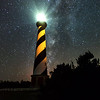 Milky Way Beside Cape Hatteras Lighthouse