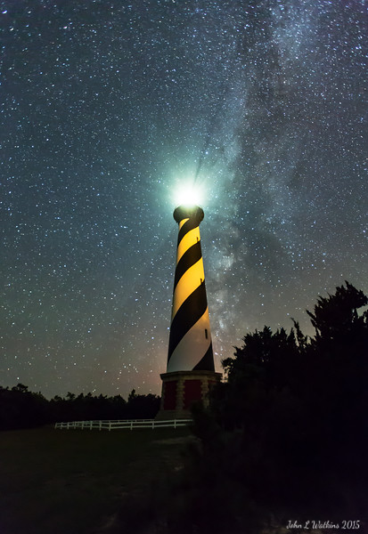 Milky Way at Cape Hatteras Lighthouse