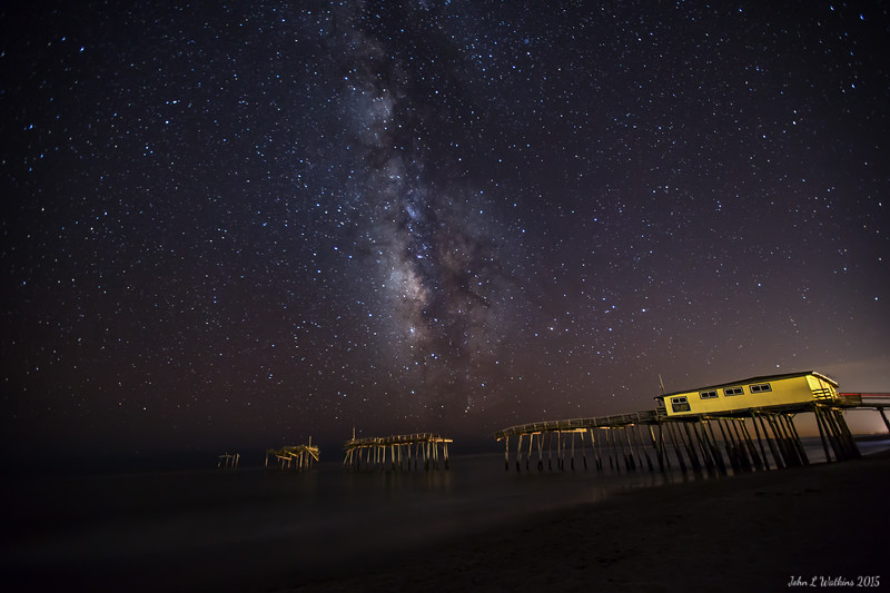 Milky Way at Frisco Pier