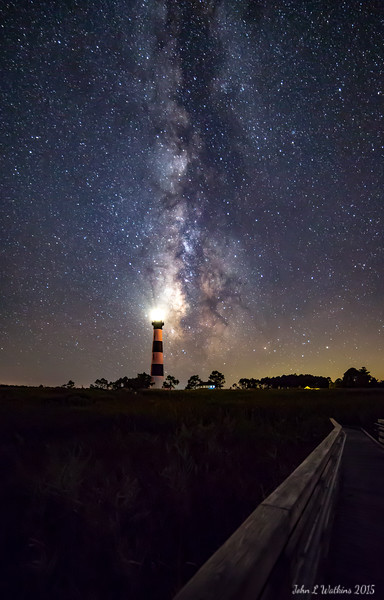 Milky Way at Bodie Lighthouse
