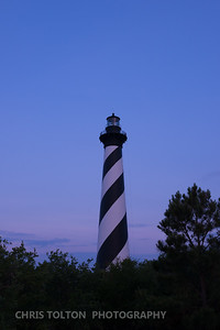 HATTERAS LIGHT BEFORE DAWN