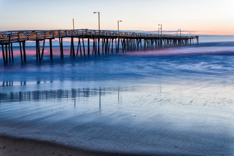 Nags Head Pier Sunrise