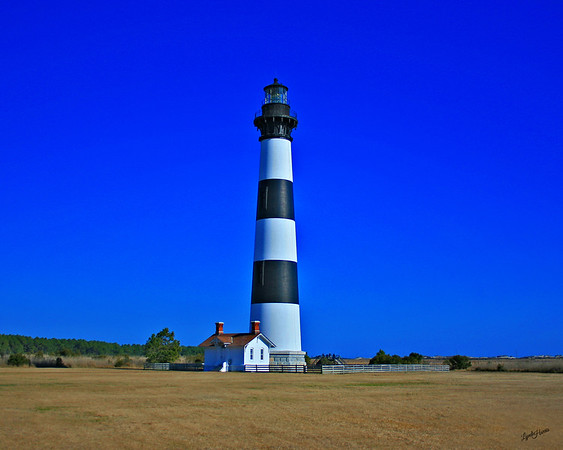 The third Bodie Island Lighthouse