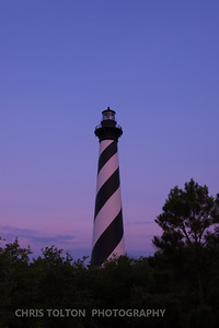 Hatteras Light Twilight Reflections