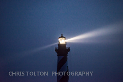 HATTERAS LIGHT'S BEAMS