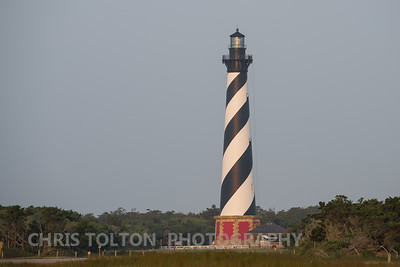 HATTERAS LIGHTHOUSE SUNRISE REFLECTION