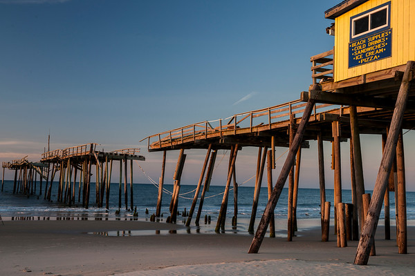 Frisco Pier - All that is left