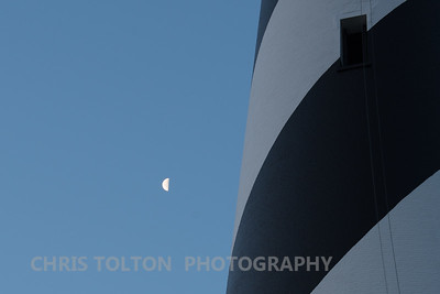 MOON AND HATTERAS LIGHT