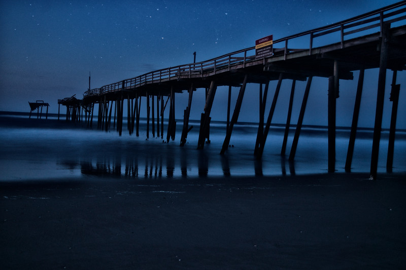 Frisco Pier - Blue Hour
