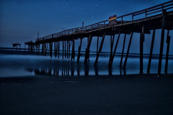 Frisco Pier - Blue Hour