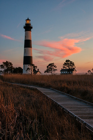Bodie Island Lighthouse at Twilight