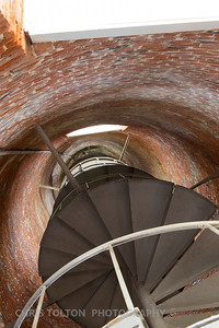 OCRACOKE LIGHTHOUSE STAIRS