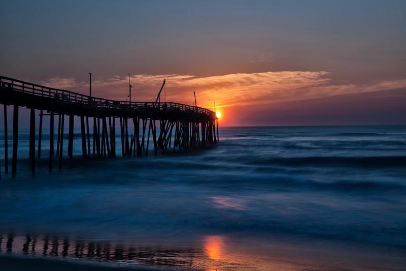 Avon Pier Sunrise