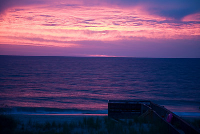 Nags Head, NC. Wednesday, 8/13/08 @ 6:07 AM.