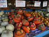 Turban squash at a roadside groceries store