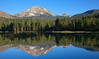 Manzanita Lake with Lassen peak