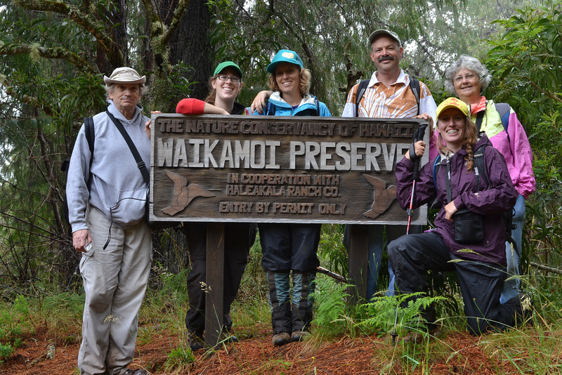 Today's group [photo by Jim Newhouse]