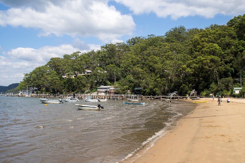 Beach Dangar Island