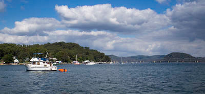 Dangar Island & Hawkesbury Bridge
