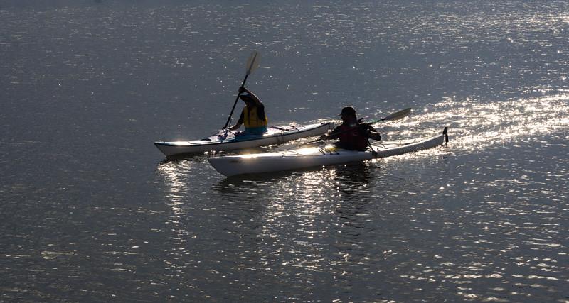 Canoeists Olympic Park