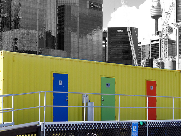Coloured Doors