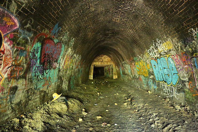 Otford Rail tunnel 3
