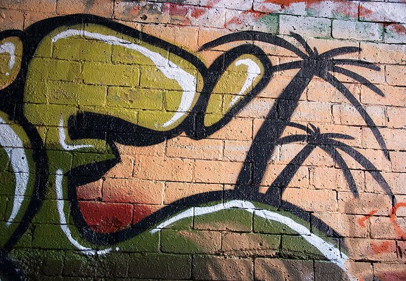 Otford Rail Tunnel graffiti 1