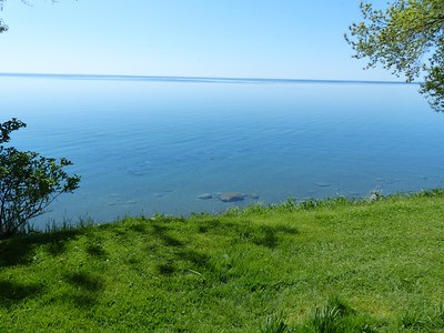 Lake Ontario as seen from Thickson's Woods.