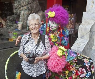 Maureen & Clown