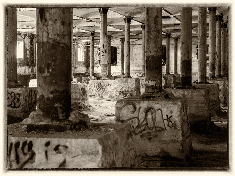 Brewery columns