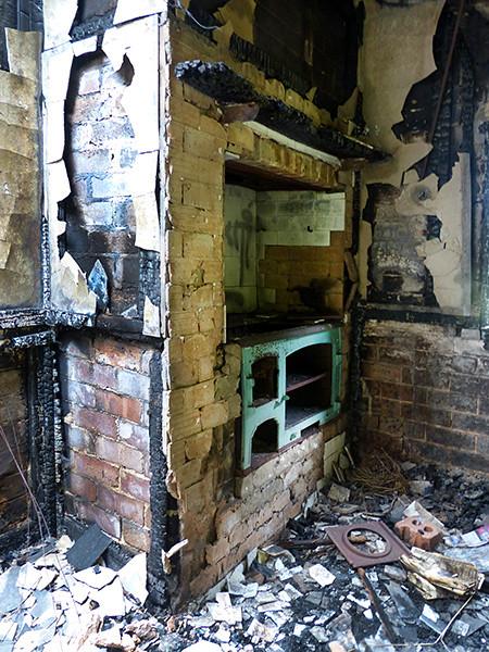 Kitchen remains