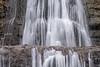 Sherman Falls Detail by Don Poulton