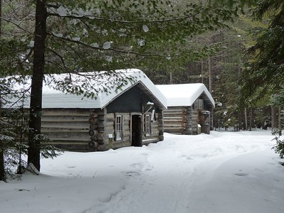 Logging Museum Trail buildings