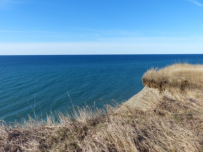 Bluffs along Lake Ontario