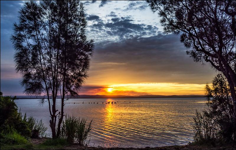 Sunset Tuggerah Lake