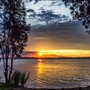 Sunset Tuggerah Lake