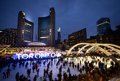 Toronto City Hall Christmas Festival Outing UPLOAD  Dec 2017