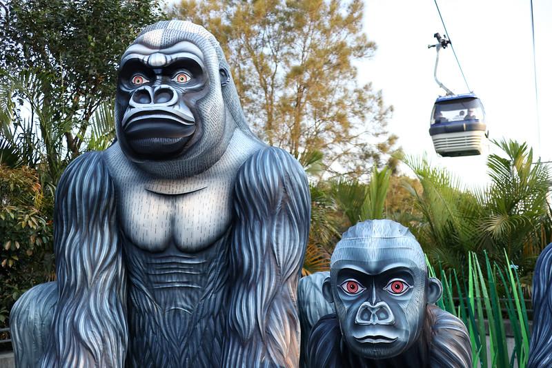 Unreal gorillas