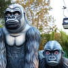 Unreal gorillas