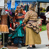 People, costumes and paraphanalia of the Perris Steampunk Festival