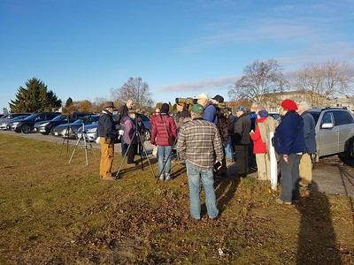 WBFN members meeting at Cobourg Harbour and remembering Clive Goodwin
