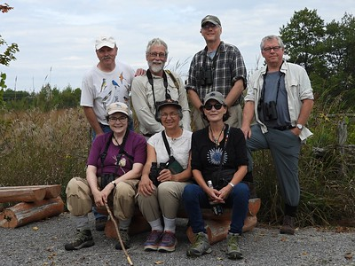 Participants in WBFN outing to Alderville Black Oak Savanna