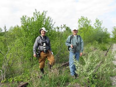 Richard Girardin & Don McLeod in Area 3 - Photo by Katsu Sakuma