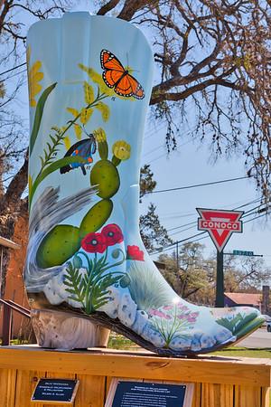 #12 Wimberley Wildflowers & Pollinators Artist: Bejat McCracken Sponsor: Wilson Allen