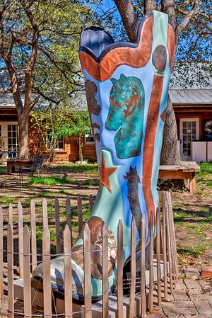 #23 Kickin' Round Wimberley Artist: Katy and Gary Arnold Sponsor: Moon Dance Arts